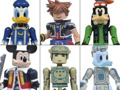 Kingdom Hearts Minimates Series 1 Set of 3 Two-Packs