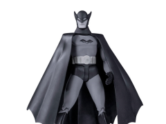 DC Comics Batman Black and White Action Figure (Bob Kane)