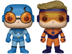 Pop! Heroes: Booster Gold & Blue Beetle Two-Pack PX Previews Exclusive
