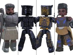 Black Panther Marvel Minimates Box Set