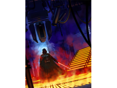 Star Wars Lurking Lineage Lithograph