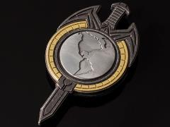 Star Trek: The Next Generation (Mirror Universe) Terran Empire Magnetic Insignia Badge