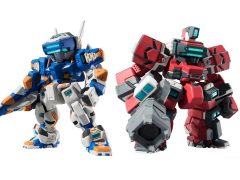 Gundam FW Gundam Converge: Mechanics Cyber Troopers Temjin & Raiden Exclusive Set