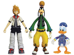 Kingdom Hearts Select Roxas, Donald, & Goofy