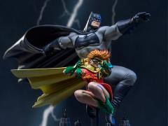 The Dark Knight Returns Batman & Robin (Frank Miller Edition) 1/10 Art Scale Statue