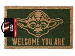 Star Wars Welcome You Are Yoda Door Mat