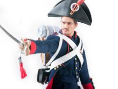 Napoleonic Wars French Field Artillery Gunner 1/6 Scale Figure