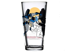 Batman: The Animated Series Toon Tumblers Batman Vs. Two-Face Pint Glass