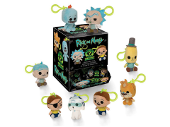 Rick and Morty Mystery Minis Random Keychain Plush