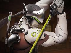 Overwatch Genji Statue