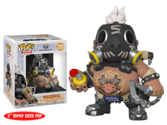 "Pop! Games: Overwatch - 6"" Super Sized Roadhog"