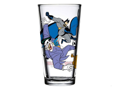 Batman: The Animated Series Toon Tumblers Batman Vs. Joker Pint Glass