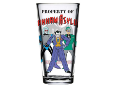 Batman: The Animated Series Toon Tumblers Arkham Pint Glass