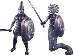 Vitruvian H.A.C.K.S. Celestial Warrior Celestial Perseus Vs. Medusa Two-Pack