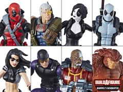 Deadpool Marvel Legends Wave 1 Set of 7 Figures (Sasquatch BAF)