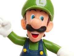 """World of Nintendo 2.50"""" Luigi (Running) Limited Articulation Figure"""