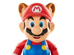 """World of Nintendo 4"""" Raccoon Mario Figure"""