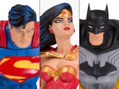 DC Designer Series Limited Edition Statue Three-Pack (Jim Lee)