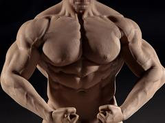 Super-Flexible Male Seamless 1/6 Scale Muscular Body (M35)