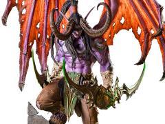 World of Warcraft Illidan Statue
