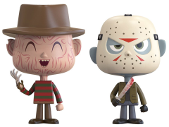 Horror Vynl. Freddy Krueger + Jason Voorhees