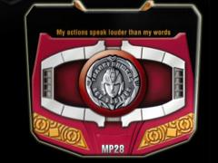 Transformers Masterpiece MP-28 Hot Rodimus Collector Coin