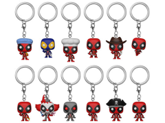 Pop! Keychain: Marvel: Deadpool Box of 24