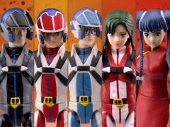Robotech Poseable Action Figure Wave 1 Set of 5