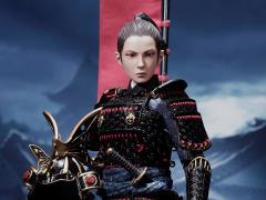 Warrior Women Series The Butterfly Helmets Warrior (Black Armor) Deluxe Version 1/6 Scale Figure