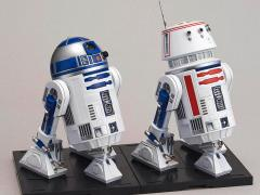 Star Wars R2-D2 & R5-D4 1/12 Scale Model Kit