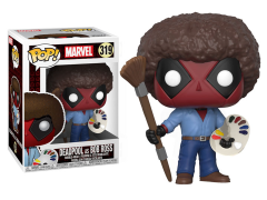 Pop! Marvel: Deadpool - Deadpool (Bob Ross)