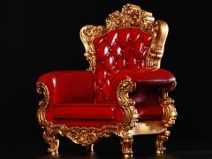 Single Sofa (Red) 3.0 1/6 Scale Accessory