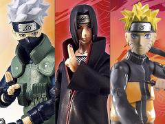 Naruto Poseable Action Figure Wave 1 Set of 3 Figures