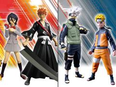 Naruto Shippuden & Bleach Viz Collection Series 1 Set of 4