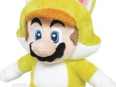 """Super Mario 10"""" Mario (Cat) Plush"""