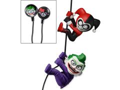 DC Comics Scaler Earbuds Joker & Harley Quinn