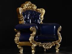 Single Sofa (Blue) 3.0 1/6 Scale Accessory