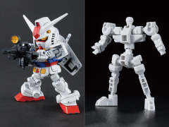 Gundam SD Gundam Cross Silhouette Frame RX-78-2 Gundam & Cross Silhouette Frame Model Kit