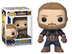 Pop! Marvel: Avengers: Infinity War - Captain America