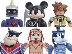 Kingdom Hearts Minimates Series 2 Set of 3 Two-Pack