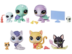 Littlest Pet Shop Pet Family Pack Wave 2 Set of 2 Five-Packs