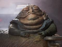 Star Wars Jabba The Hutt (Return of The Jedi) & Throne Deluxe 1/6 Scale Figure Set