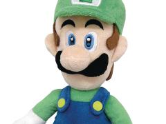 """Super Mario 10"""" Luigi Plush"""