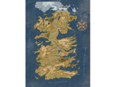 Game of Thrones Cersei's Westeros Map 1000-Piece Puzzle