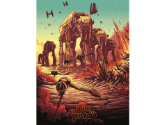 Star Wars The Spark That Will Light the Fire Art Print