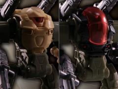 Diaclone Reboot - DA-00 Powered System A & C Desert Combat Squad Exclusive Set