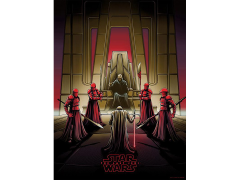 Star Wars Darkness Rises and Light to Meet It Art Print (Variant)