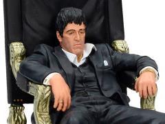 Scarface Movie Icons Tony Montana (On Throne) Figure