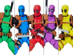 Marvel Legends Deadpool's Rainbow Squad Five-Pack