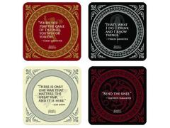 Game of Thrones Quotes Coaster Set